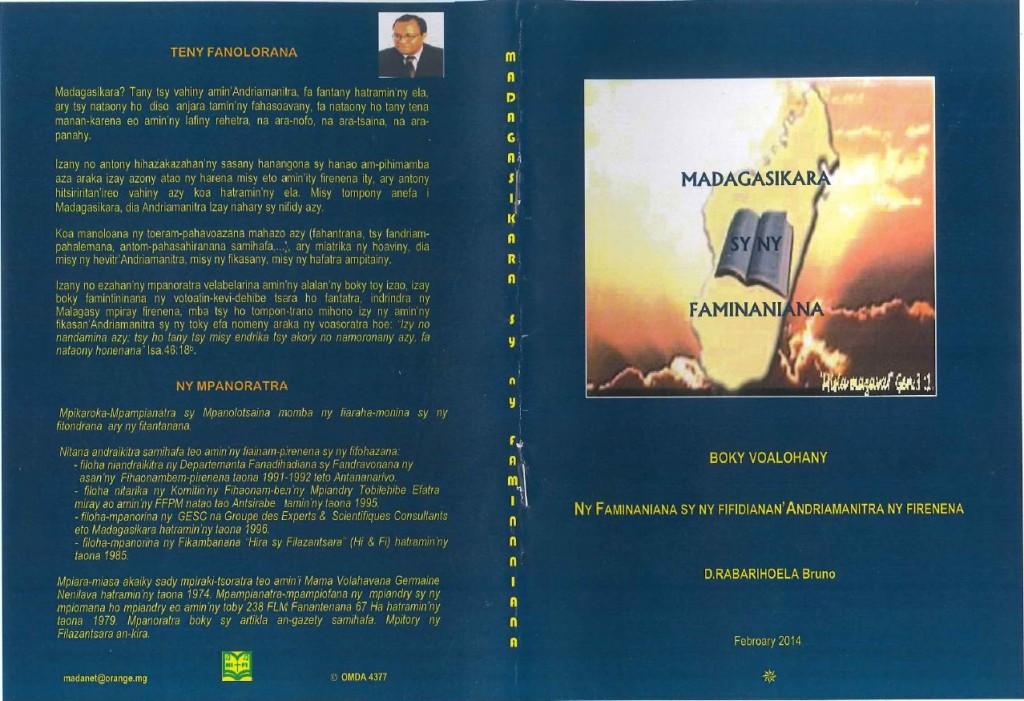 Madagasikara sy ny faminaniana Boky Voalohany